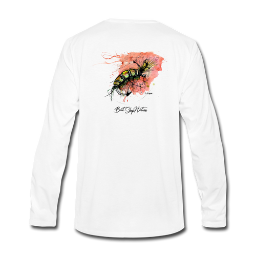 Sun Scud Cotton Long Sleeve T-Shirt BSN - white