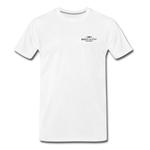 Can O' Worms Cotton T-Shirt BSN - white