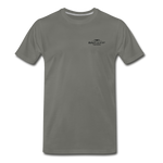 Can O' Worms Cotton T-Shirt BSN - asphalt gray