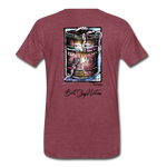 Can O' Worms Cotton T-Shirt BSN - heather burgundy