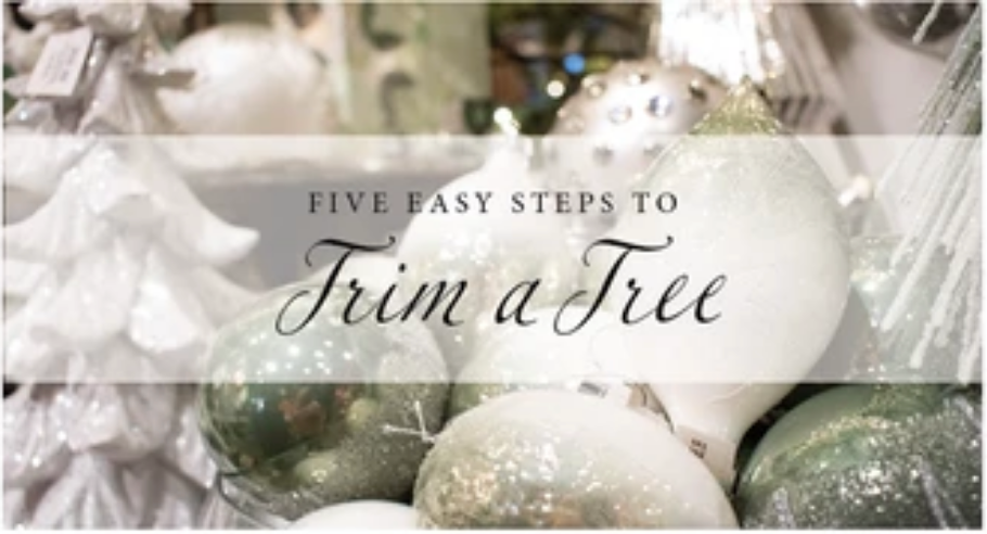 Five Easy Steps to Trim a Tree