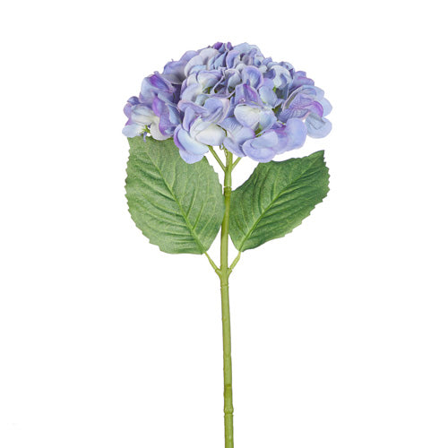 "19"" Real Touch Blue Hydrangea Stem"
