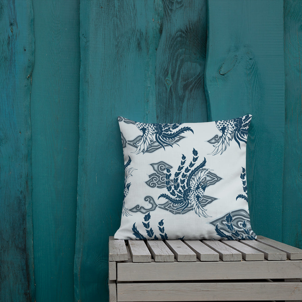 Throw Pillow Bird of Paradise by  Rumago Accents