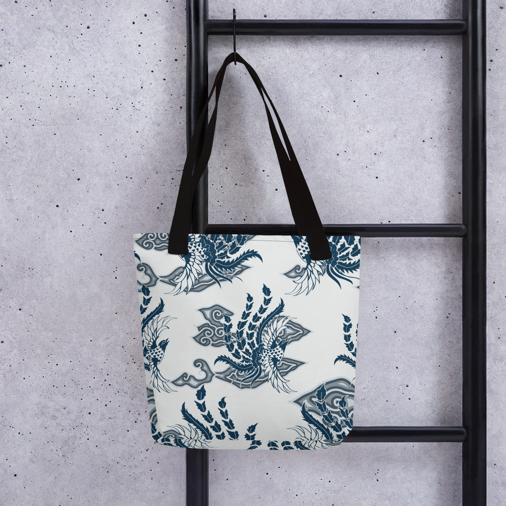 Tote Bag Bird of Paradise by  Rumago Accents
