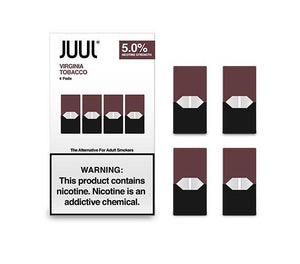 JUUL Pod Virginia Tobacco 4 Pod Pack