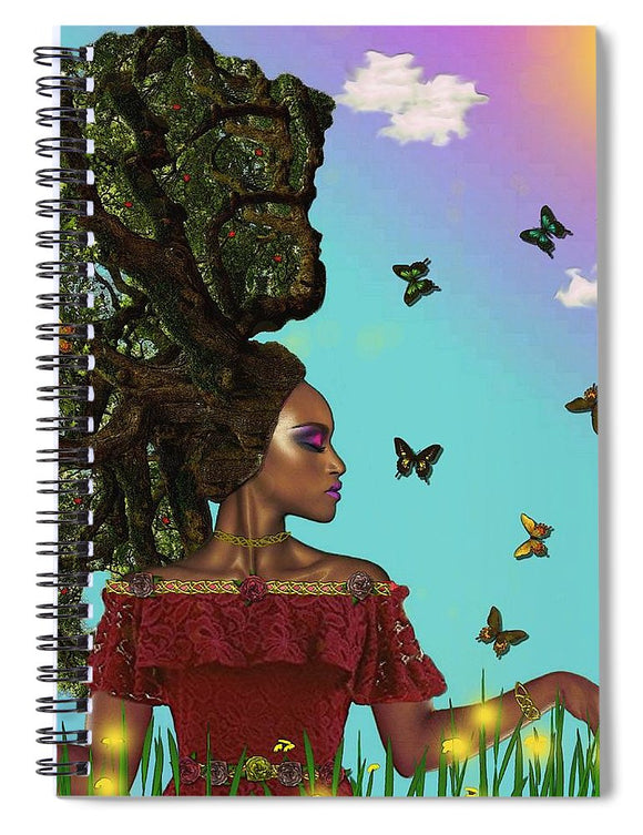 Natural  - Spiral Notebook
