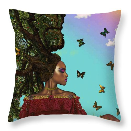 Natural  - Throw Pillow