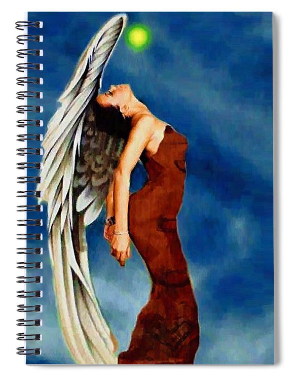 Angel #5 - Spiral Notebook