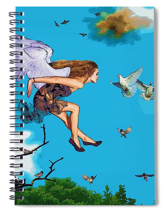 Birds of a feather  - Spiral Notebook