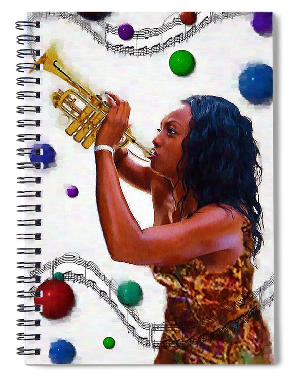 Blue Note - Spiral Notebook