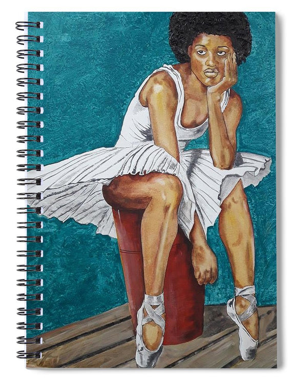 Dancer at rest #3 - Spiral Notebook