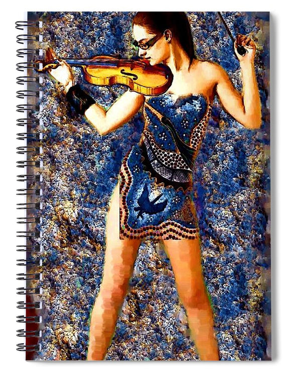 Fiddler - Spiral Notebook