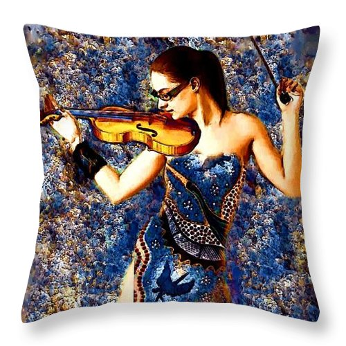 Fiddler - Throw Pillow