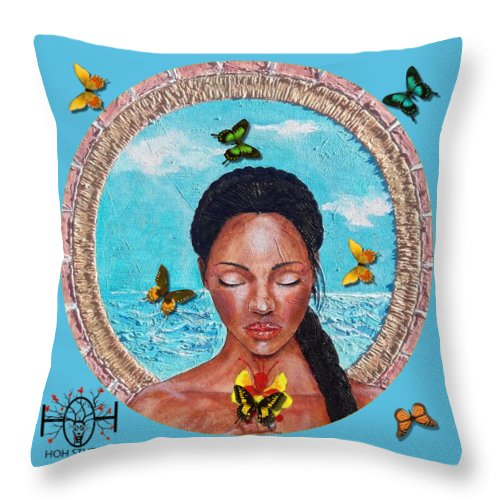 Iesha - Throw Pillow