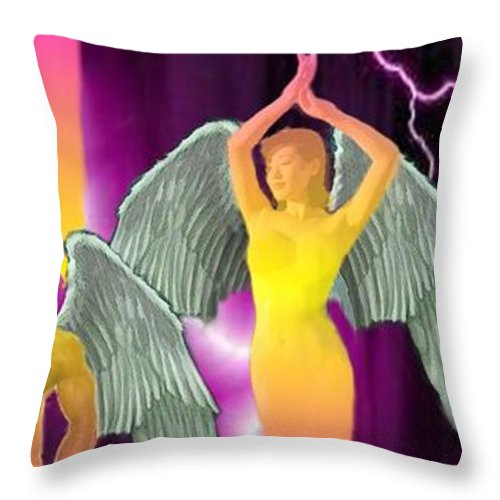 Lifted - Throw Pillow