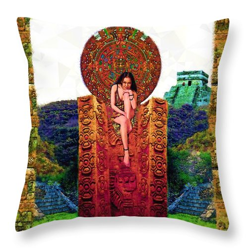 Reina - Throw Pillow