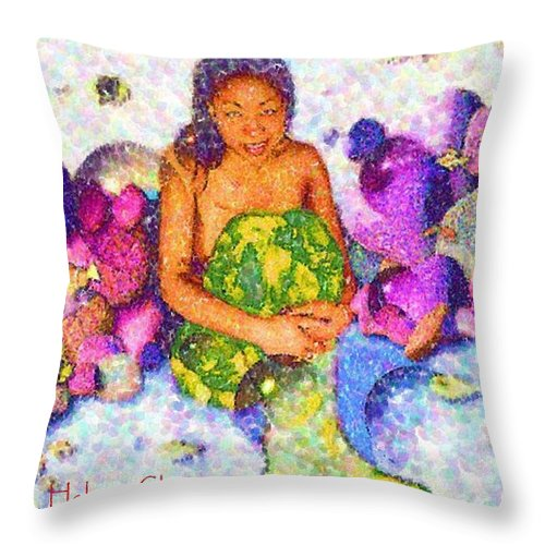 The Mer - Throw Pillow