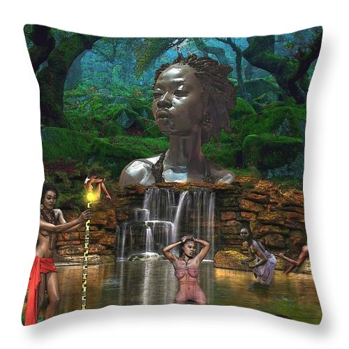 Woman of the She - Throw Pillow