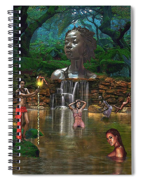 Woman of the She - Spiral Notebook
