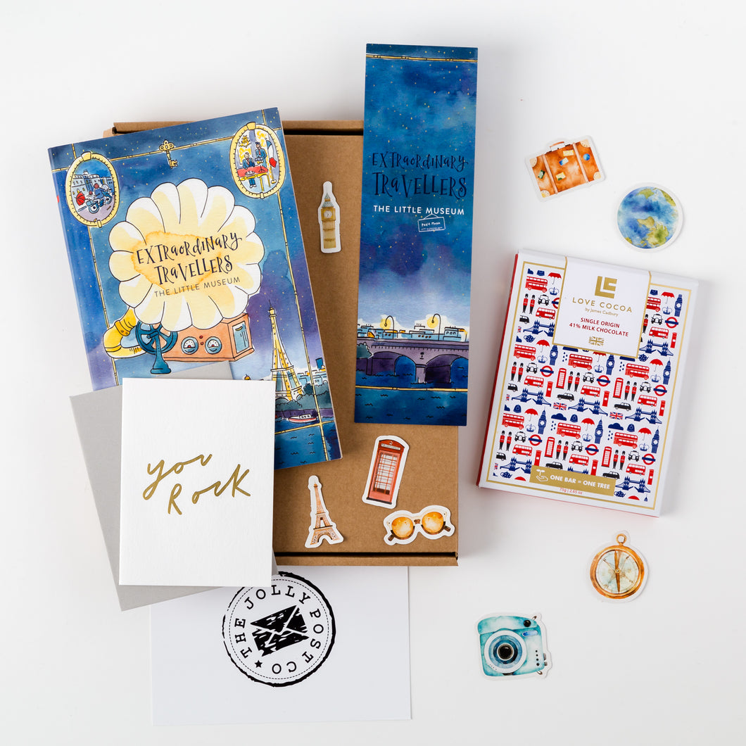 The Kids' Travel Book Box