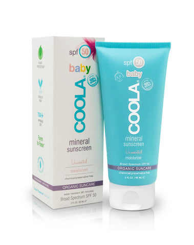 Baby Mineral Sunscreen Moisturizer SPF 50 Unscented