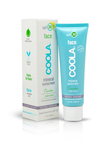 Face SPF 30 Cucumber Matte Finish