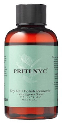 Soy Nail Polish Remover Lemongrass 2oz