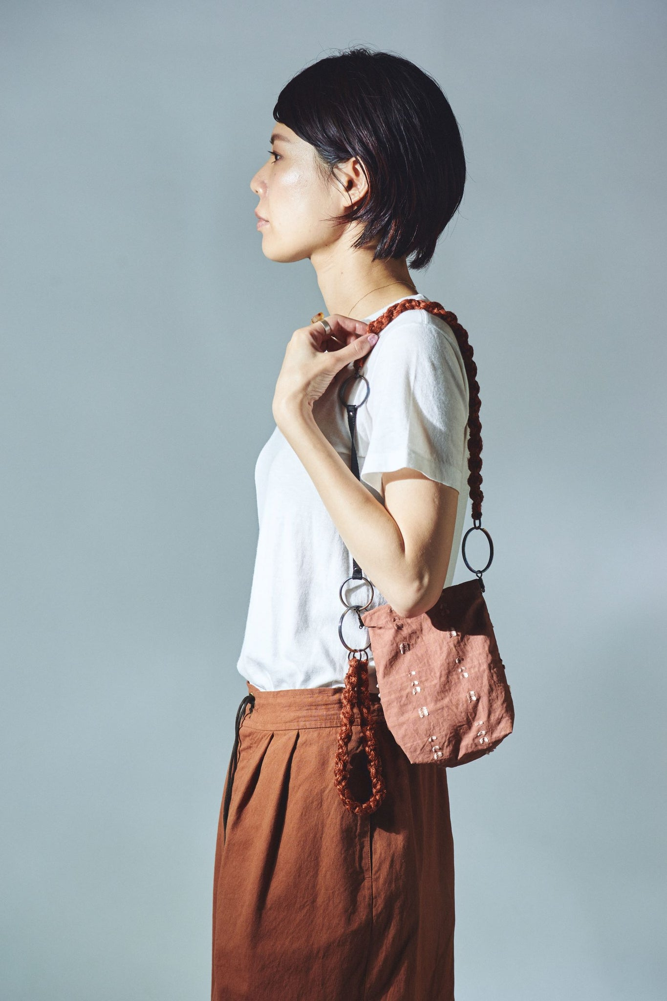 AS YET UNNAMED./the twin tale bag 別注(テーチ)