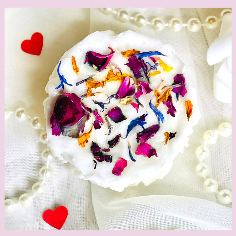Valentines Rose Beauty Bar Soap