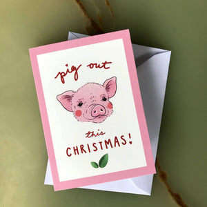 Pack of 3 Vegan Christmas Cards