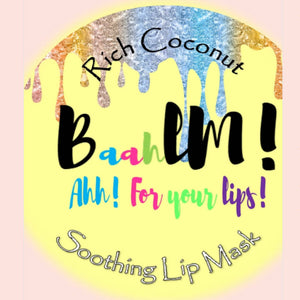 Baahlm Coconut Lip Mask