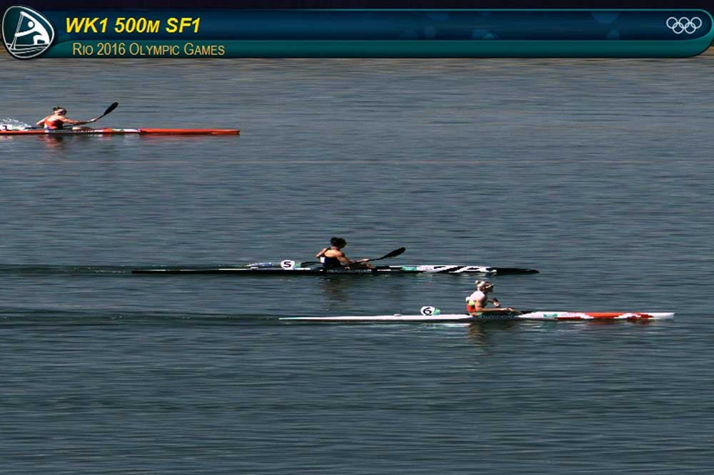RIO OLYMPIC RESULTS: LISA CARRINGTON THROUGH TO K1W 500m A Final