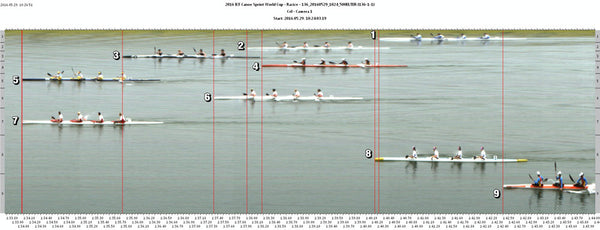 WK4 500m at ICF Canoe Sprint World Cup Round 2, Racice.