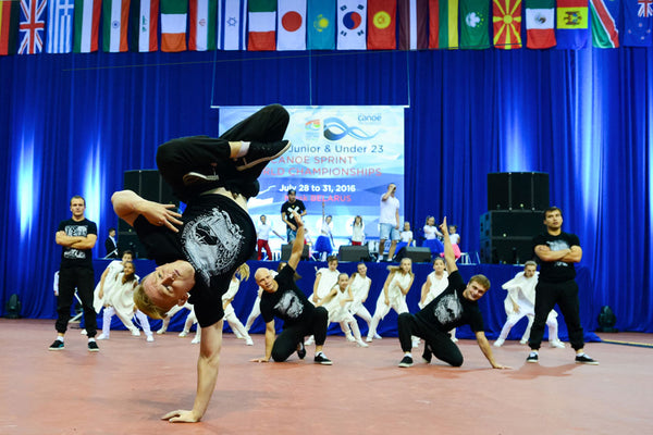 Breakdancers at the Opening Ceremony