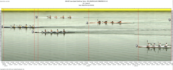 K4 Women come second in their 500m Heat at Racice
