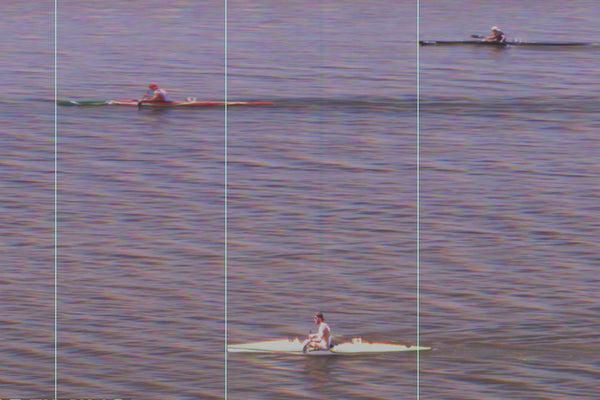Marty McDowell comes third in Mens K1 1000m Semifinal in Portugal