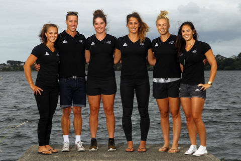 The NZ Olympic Kayak Team