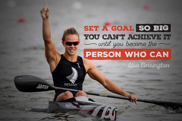 Set a goal you can't achieve