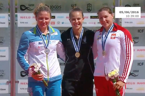 WK1 500m Medal Ceremony, Montemor