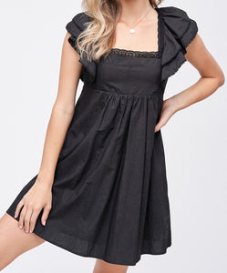 Eden Babydoll Mini Dress