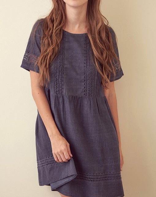 Lena Mini Tunic Dress