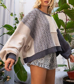 Load image into Gallery viewer, Maggie Patch Knit Sweater