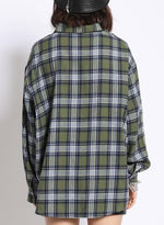 Load image into Gallery viewer, Shasta Oversized Plaid Shirt