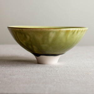 Glossy Olive Bowl