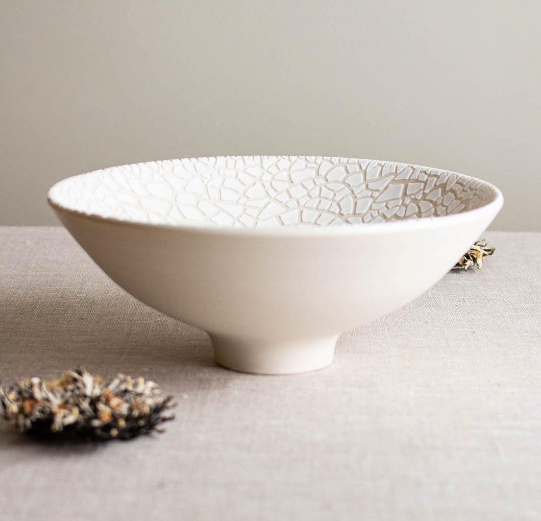Lichen Glazed Bowl