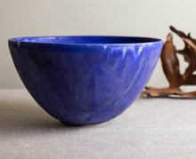 Load image into Gallery viewer, Large, Cobalt Crystal Bowl