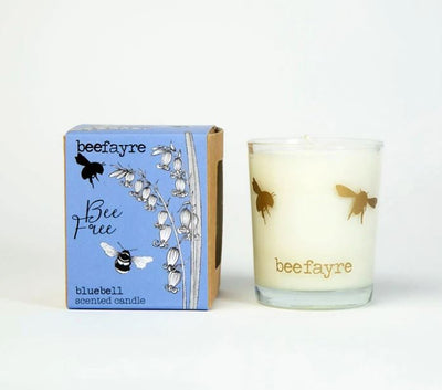 "Quick Candle Review: ""Bee Free"" Bluebell votive by BeeFayre"