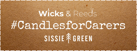 Wicks and Reeds Sissie Green #CandlesForCarers competition Winter 2020