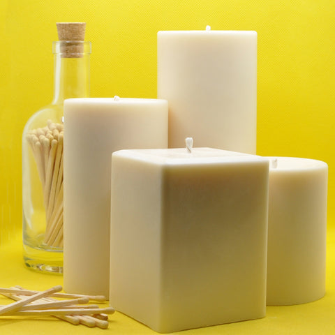 Pillar Candles UK - which ones to buy and why. Handmade Pillar Candles from wicks and reeds online