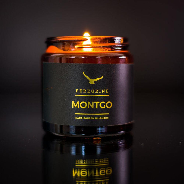 Bergamot & Rosemary Handpoured Natural Soy Candle - www.wicksandreeds.com